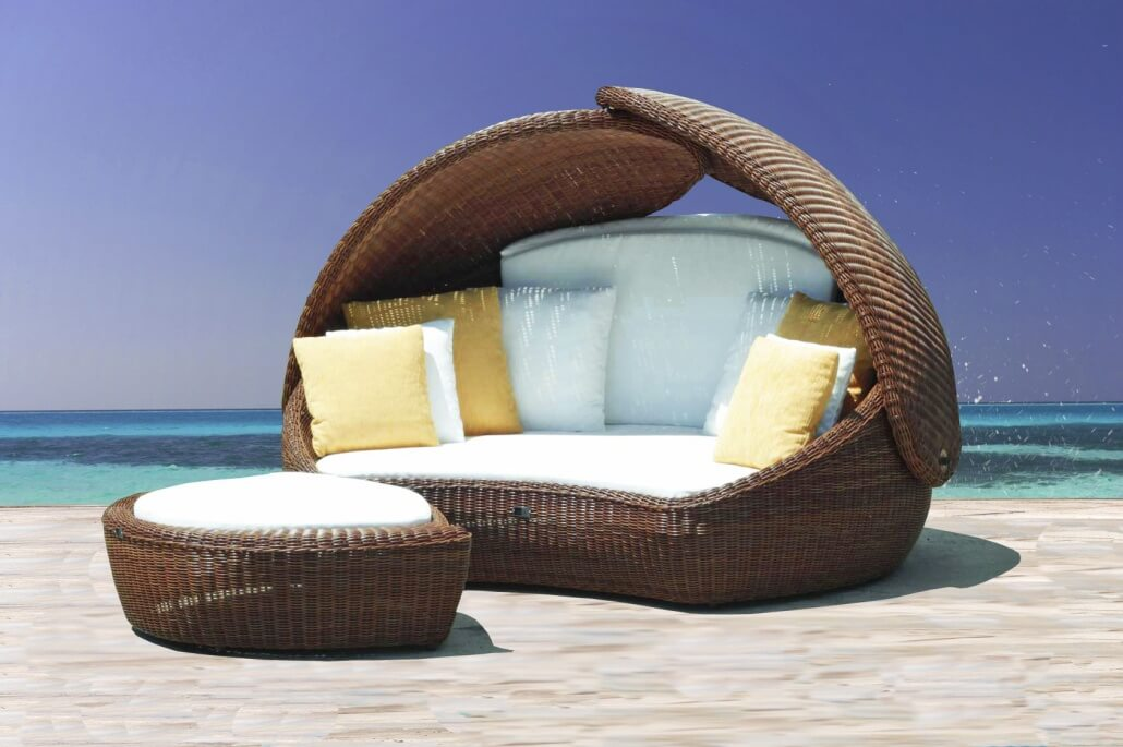 Garten couch latest rundes sofa modern garten fat bb for Bauen modern medesta